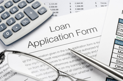 Loan Application Document Containing Exhorbitant Interest Rate